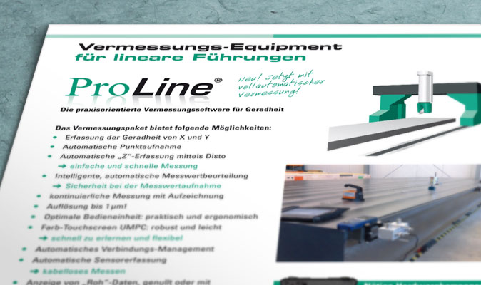 Status Pro Maschinenmesstechnik: Produktbroschüre
