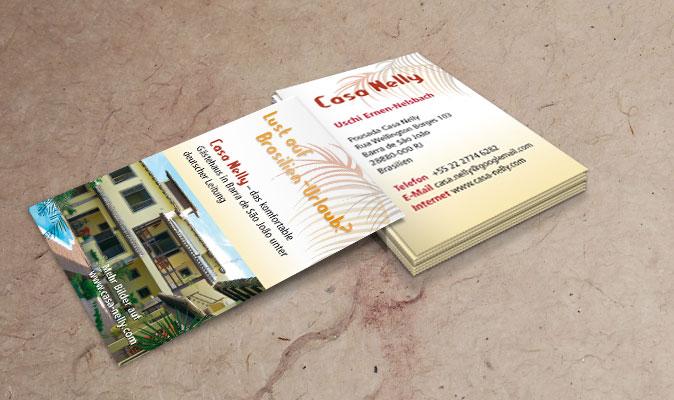Casa Nelly: Visitenkarten
