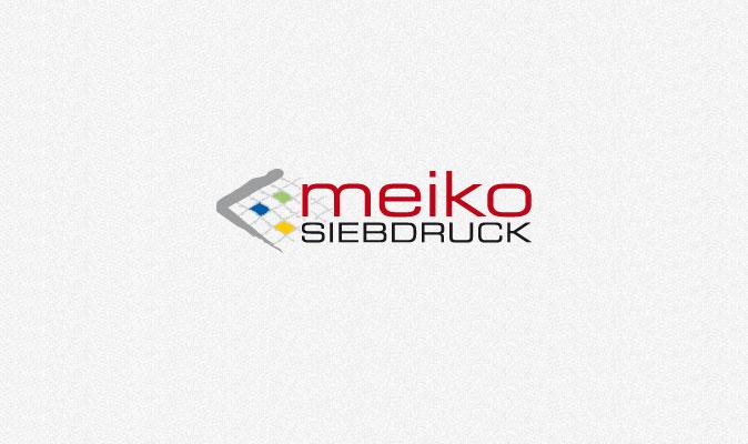 Logo meiko Siebdruck