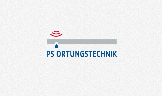 Logogestaltung PS-Ortungstechnik