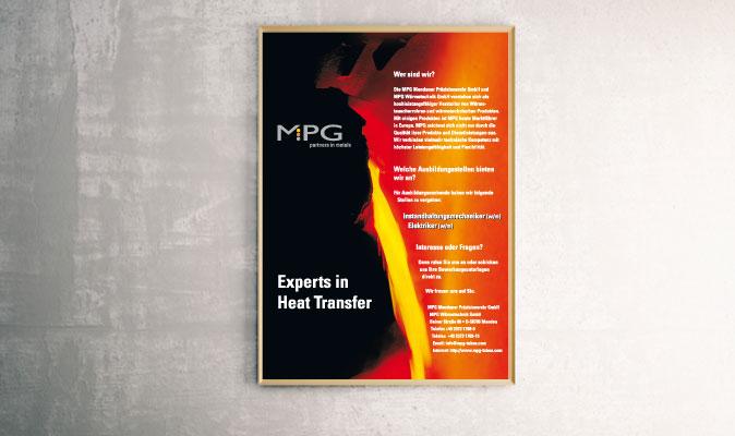 MPG Mendener Präzisionsrohr GmbH: Plakat