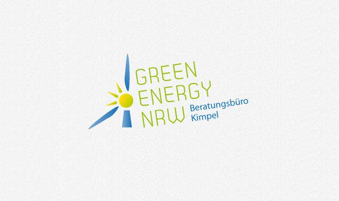 Logoentwicklung Green Energy NRW
