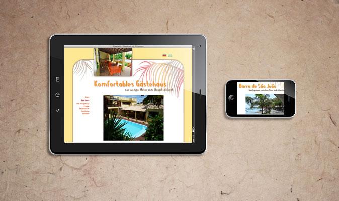 Casa Nelly: Webdesign und CMS